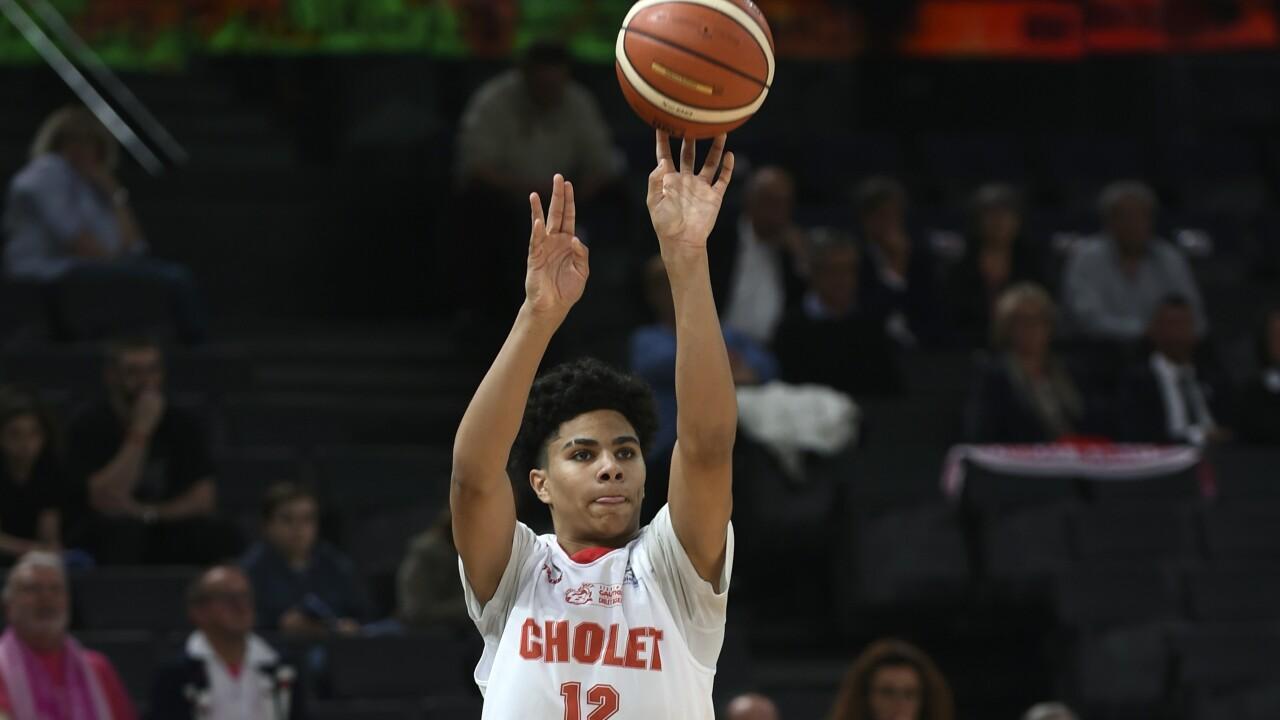Killian Hayes, Coupe de France cadets 2017 Finale Cholet Basket-Elan Chalon
