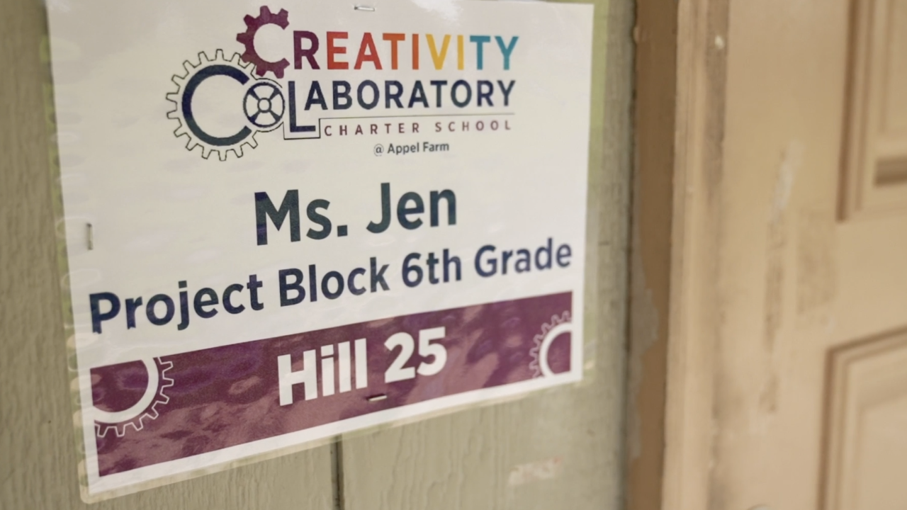 """At Creativity CoLaboratory Charter School, known as """"C3,"""" they are limiting class sizes to 12 students and placing air filtration systems in each classroom."""