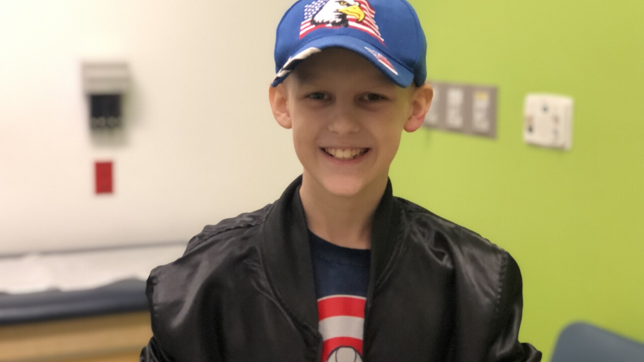11-year-old cancer survivor donates $4,300 in lemonade stand earnings to hospital that treated him