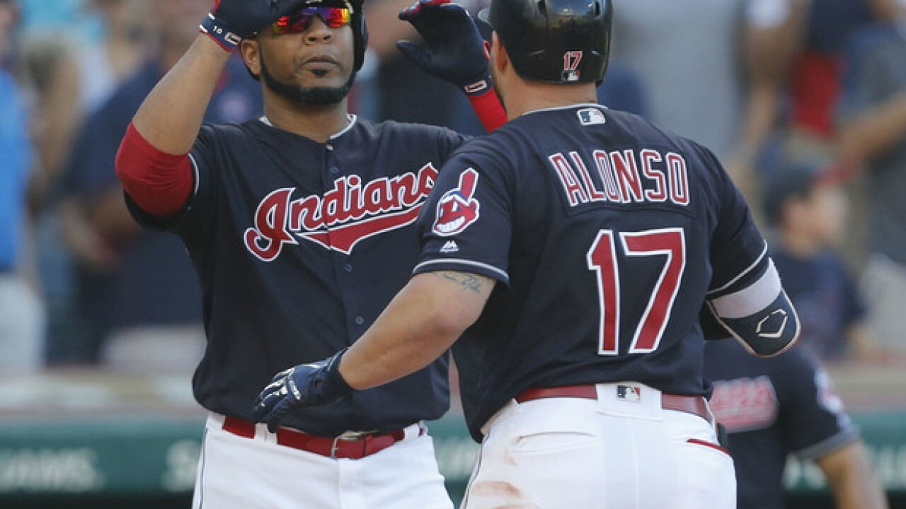 Indians rock Tigers, clinch third straight division title