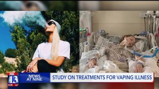 Utah doctors publish study on treatment of vaping-related lung illnesses