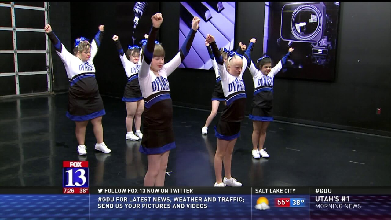 Dynasty Athletics special cheerleading squad performs on GDU