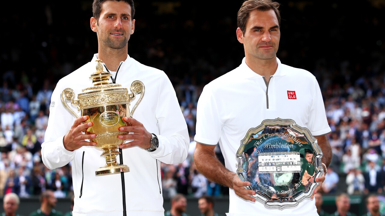 Novak Djokovic tops Roger Federer in historic final for 5th at Wimbledon