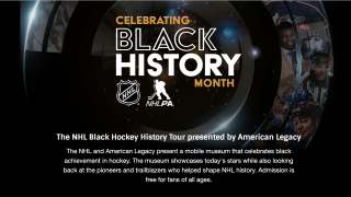 NHL Black History Tour website
