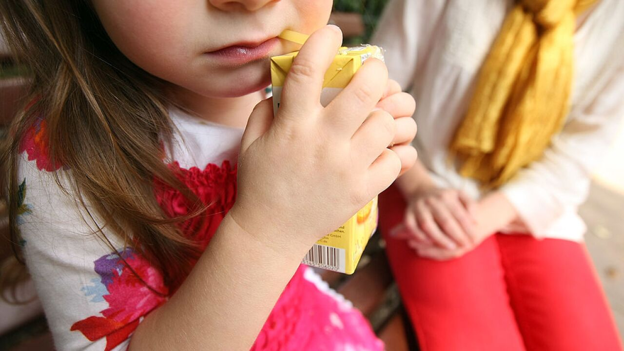 Top 34 bestselling 'fruit' drinks for kids deemed unhealthy