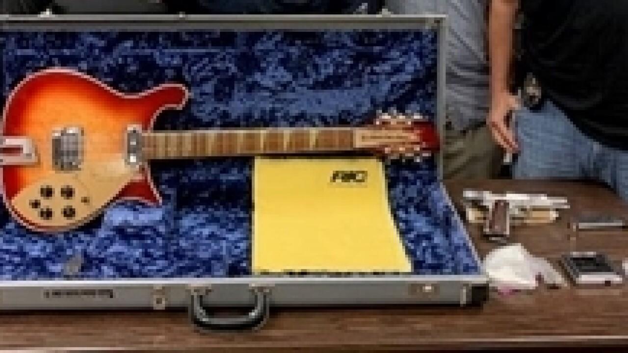 Daylan Isaacs arrest + Tom Petty-signed guitar