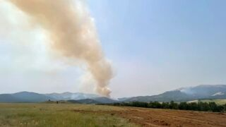 Photo taken by Custer Gallatin National Forest Fire Management Officer