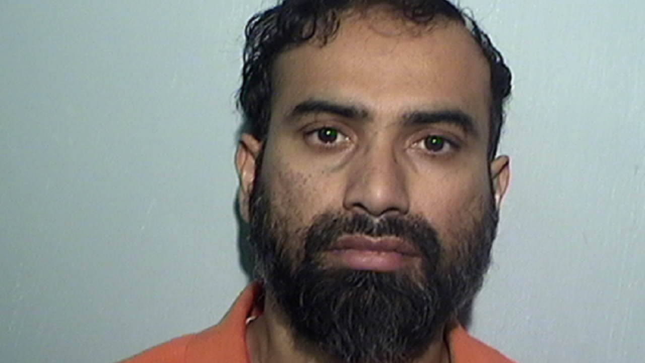 Man facing terror charges indicted for plotting to murder judge