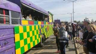 Carnivale D'Acadie keeps Mardi Gras going in Downtown Crowley