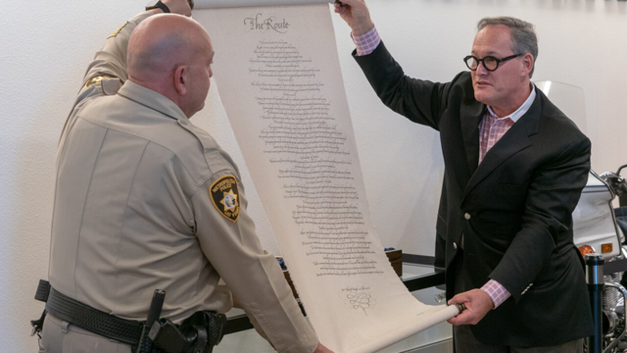 1 October poem penned by LVMPD captain unveiled