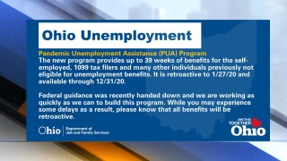 Personal information of applicants in Ohio's Pandemic Unemployment Assistance program exposed in data breach