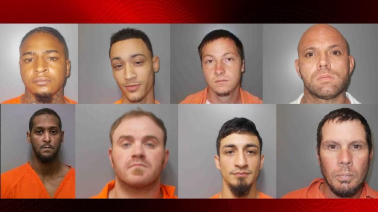 Jeff Davis Parish inmates 7-8-19