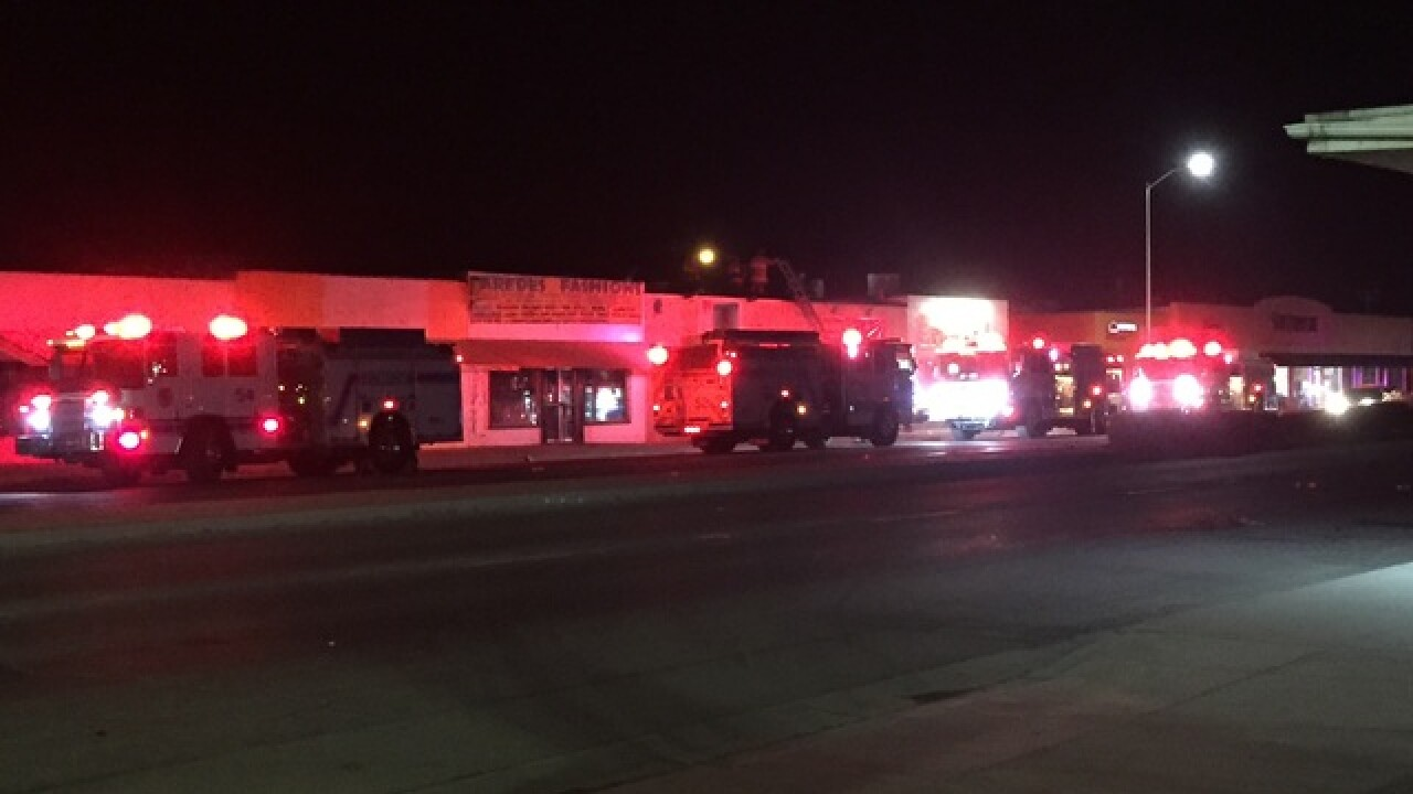 Fire reported at business in Lamont