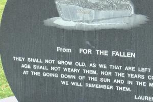 Vietnam veteran sprucing up memorials at Missoula's Rose Memorial Park