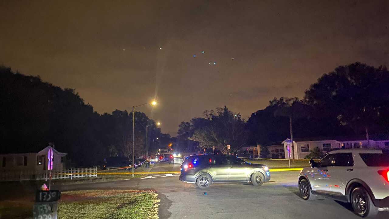 Shooting in Clearwater Parkwood Street