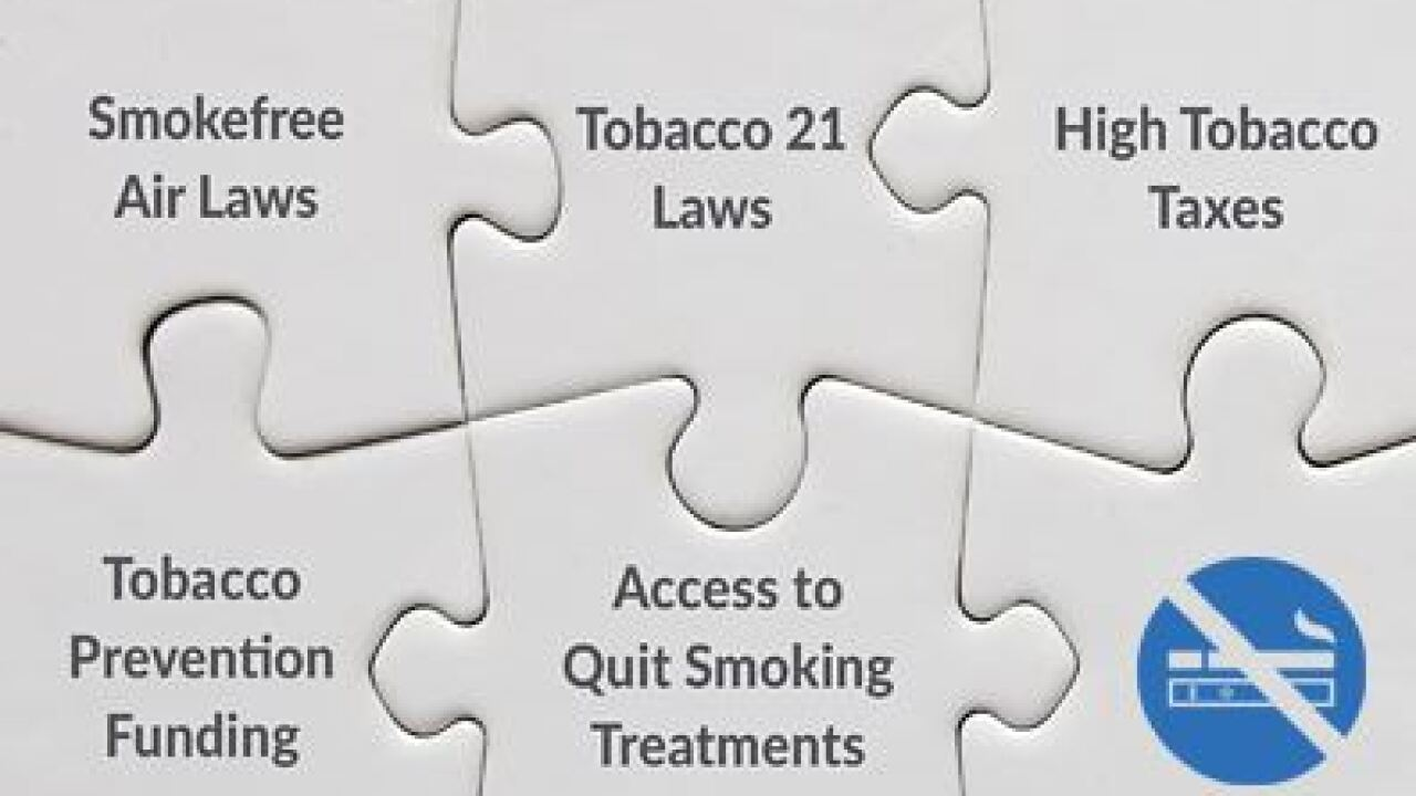 Utah gets three F's in American Lung Association tobacco report card