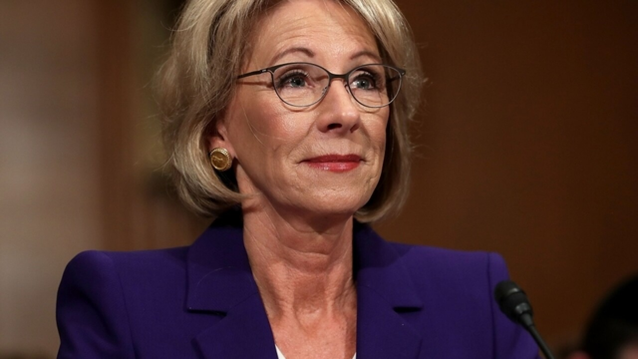 Senate committee approves Betsy DeVos for education secretary
