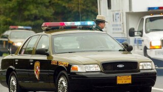 Maryland State Troopers prepare for Thanksgiving travel