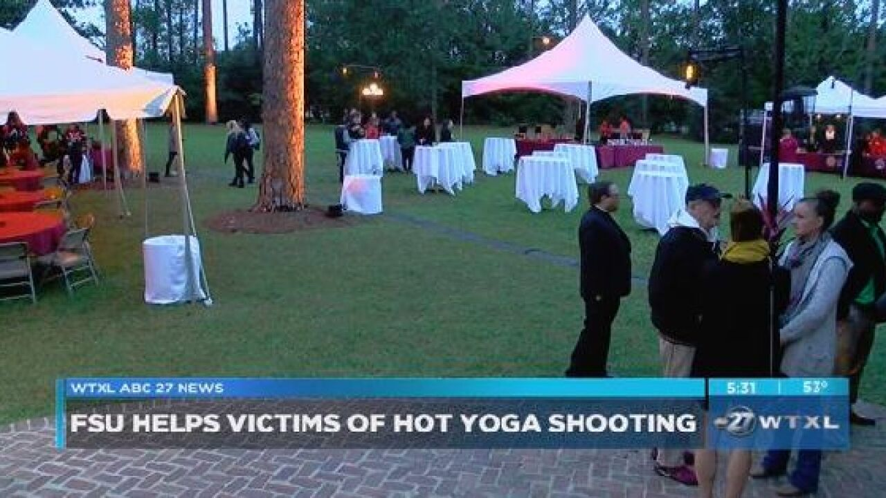 FSU holds Tallahassee Strong Fundraiser to help yoga studio victims