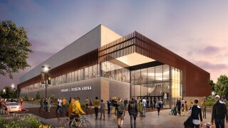 Rendering of Robson Arena