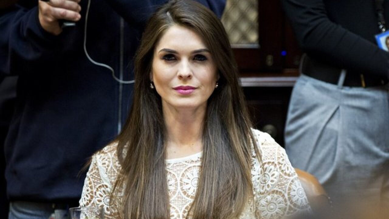 Trump's communications director Hope Hicks resigns