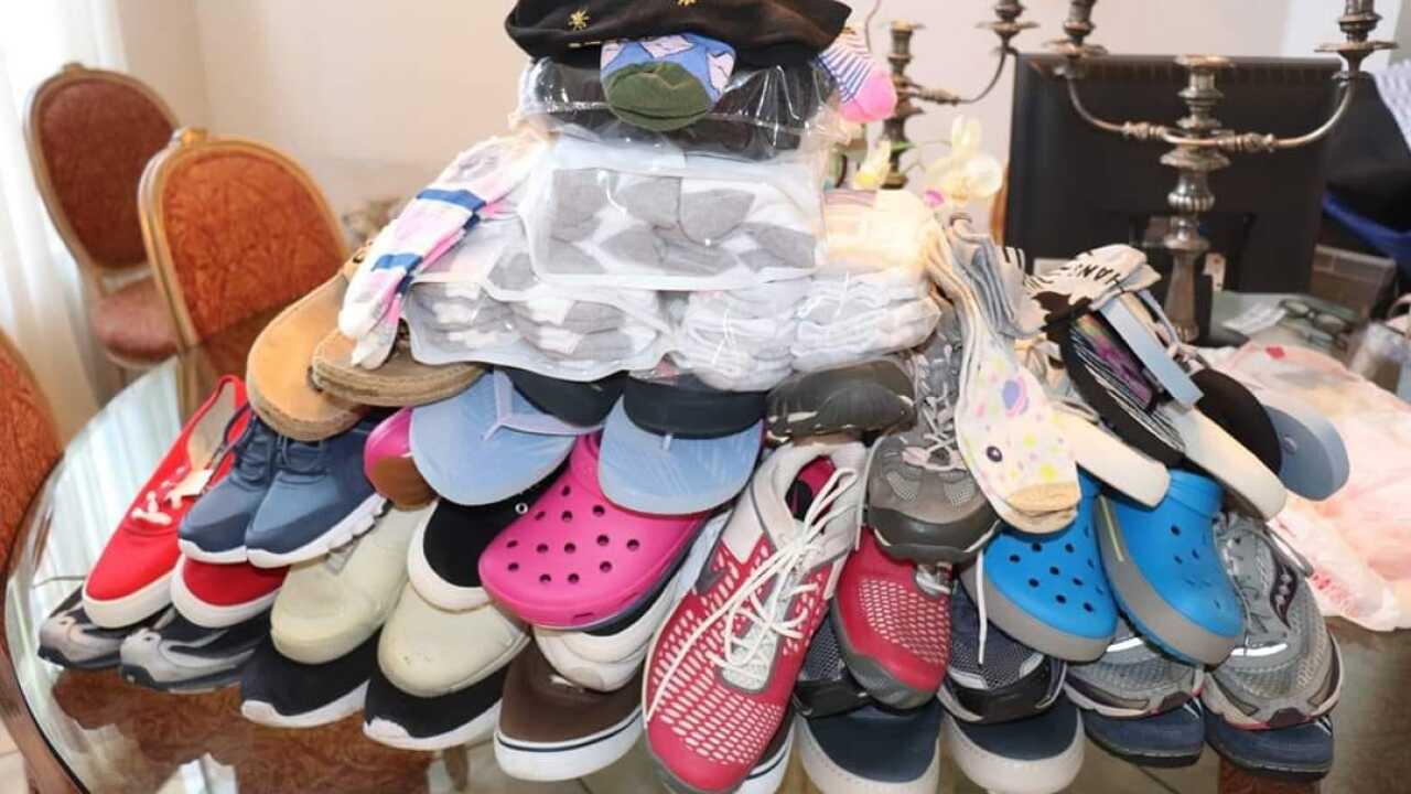 """""""Step it Forward"""" is the name of a non-profit started by a Boca Raton mom to give new footwear to people battling addiction."""