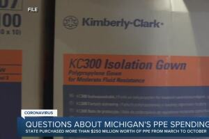Questions about Michigan's PPE spending