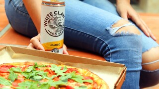 White Claw-infused crust now at nationwide pizza chain