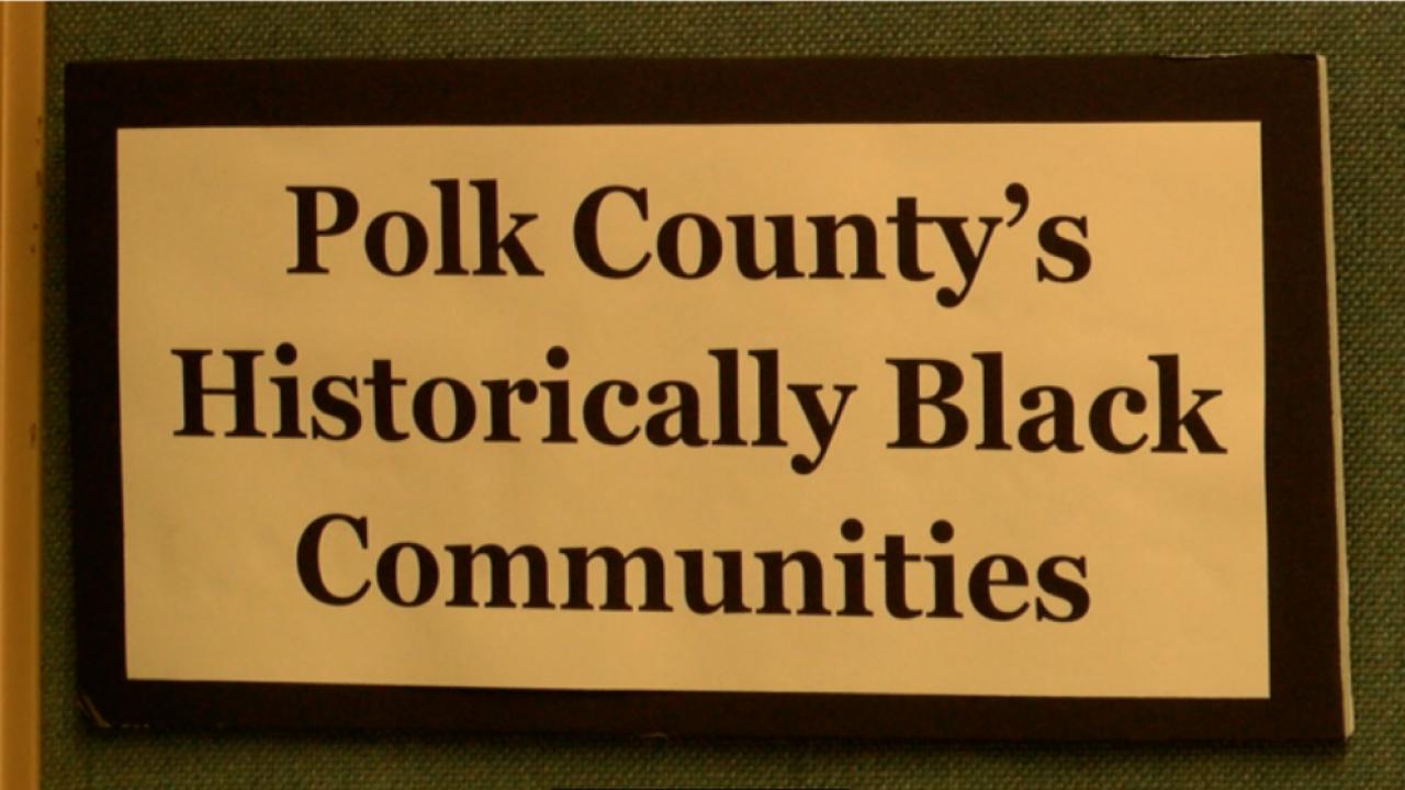 Polk County black communities