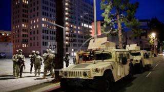National Guard Humvee