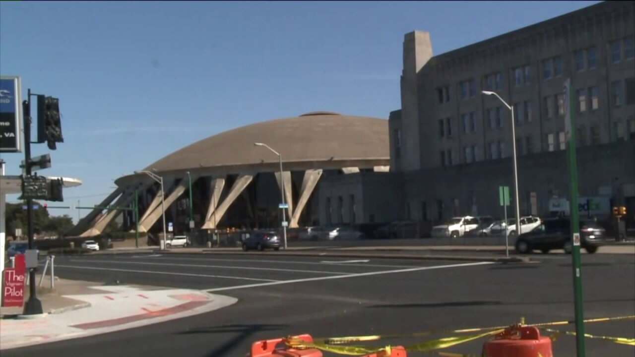 Norfolk Mayor Kenny Alexander announces plans for state-of-the-art arena