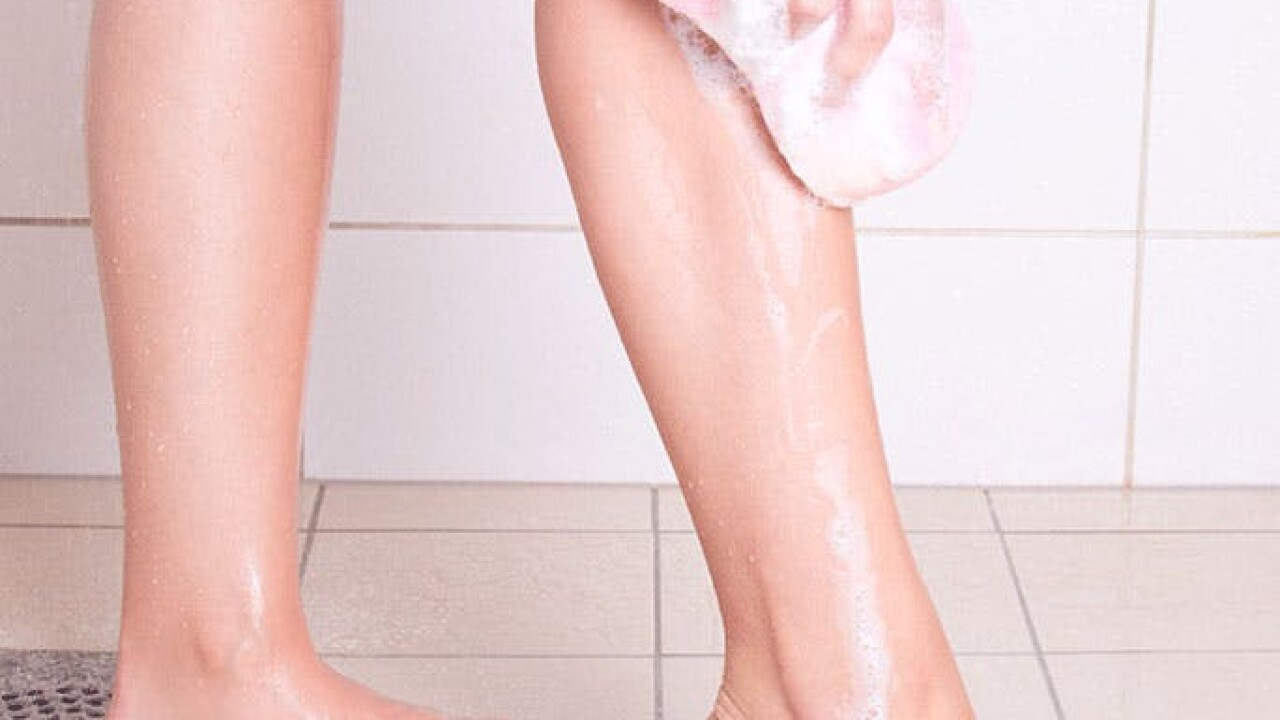 Twitter explodes over leg washing question