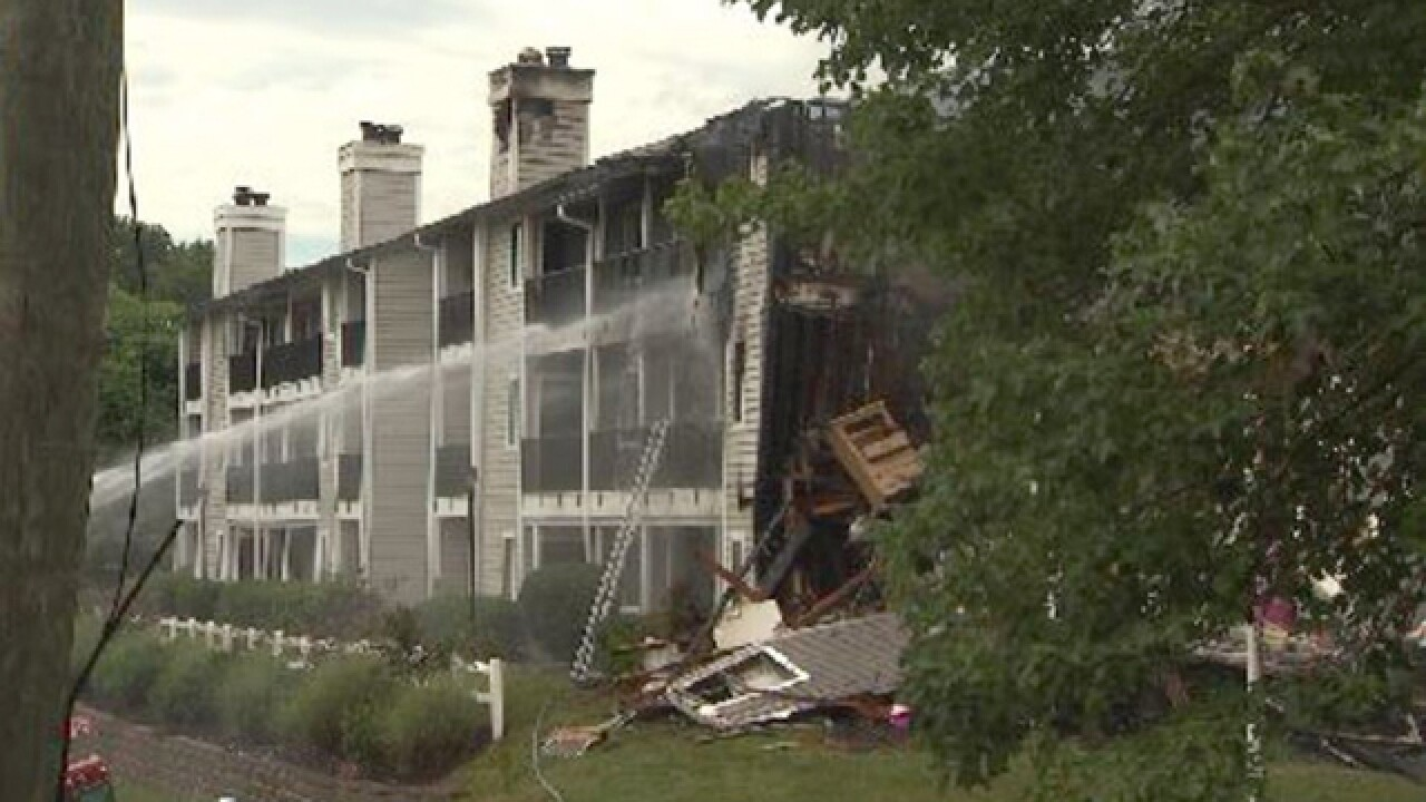 Massive Antioch Fire Displaces Up To 100 People