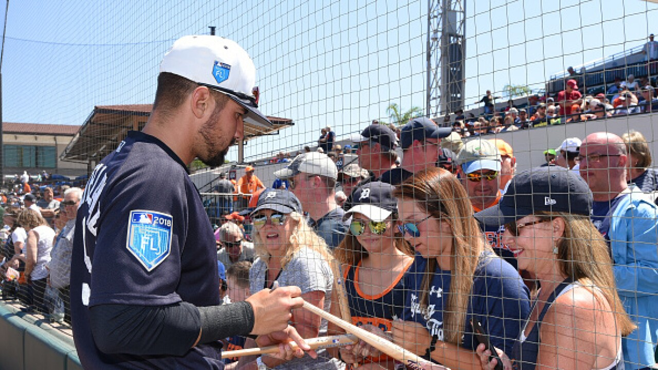 Nick Castellanos spring training