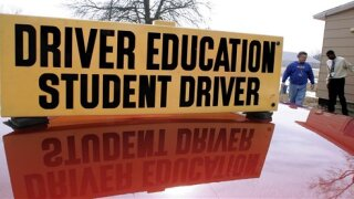 Driver's Education Student Driver