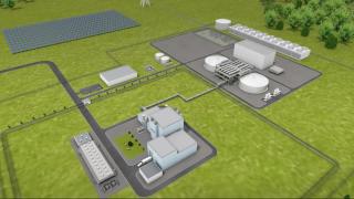 Natrium nuclear plant