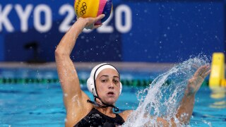 Team USA's Steffens makes splash with career Olympic water polo record