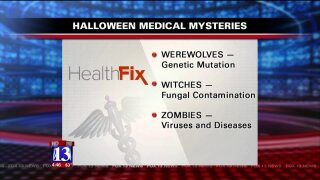 Medical mysteries of werewolves, witches and zombies