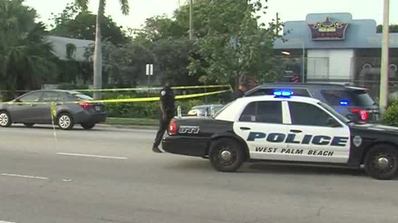 Shooting on Palm Beach Lakes Blvd. in West Palm