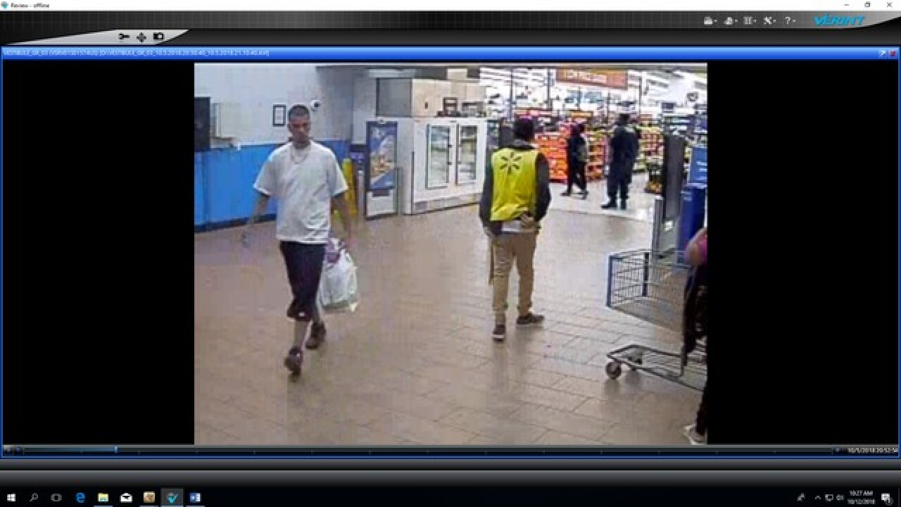 BPD searching for Walmart fraud suspect