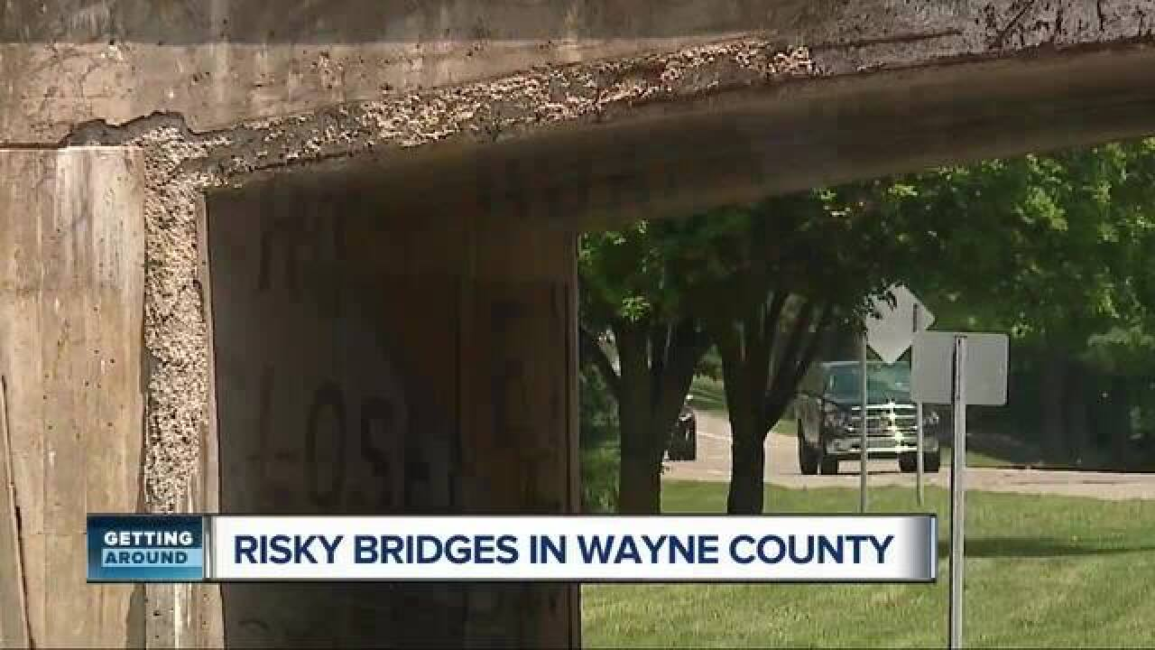 Wayne Co  closing several bridges as result of 7 Action News