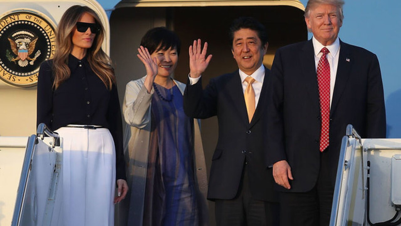 President Trump to host Japanese Prime Minister Abe at Mar-a-Lago April 17-18