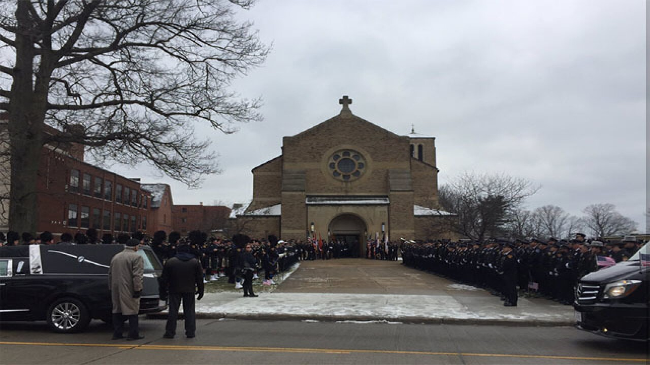 Fallen Officer David Fahey laid to rest