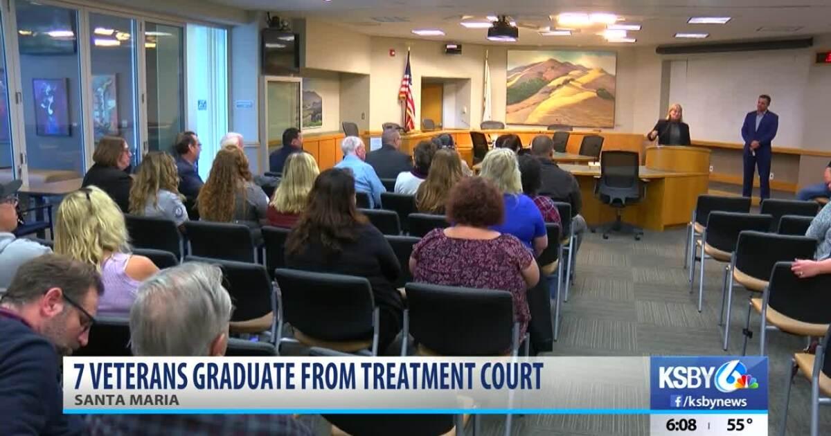 Local war veterans graduate from treatment court