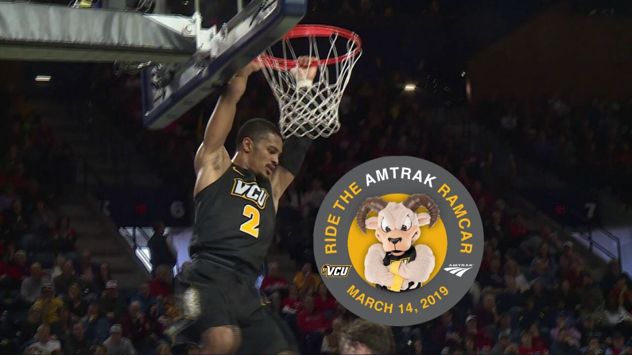 RamCar will take VCU fans to A-10 Basketball Tournament in school-spirited style