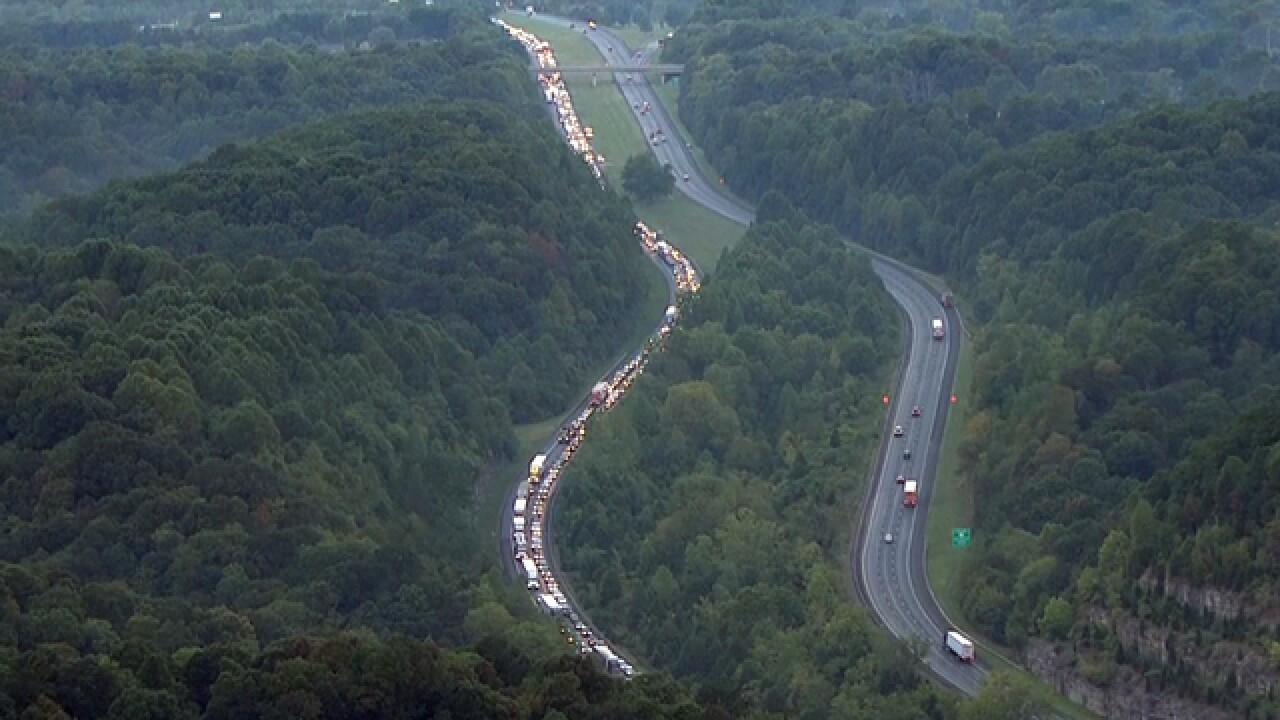 Crash Delays Traffic On I-24 East Near Joelton