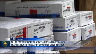 Revisions in handling of sexual assault evidence kits coming to Montana