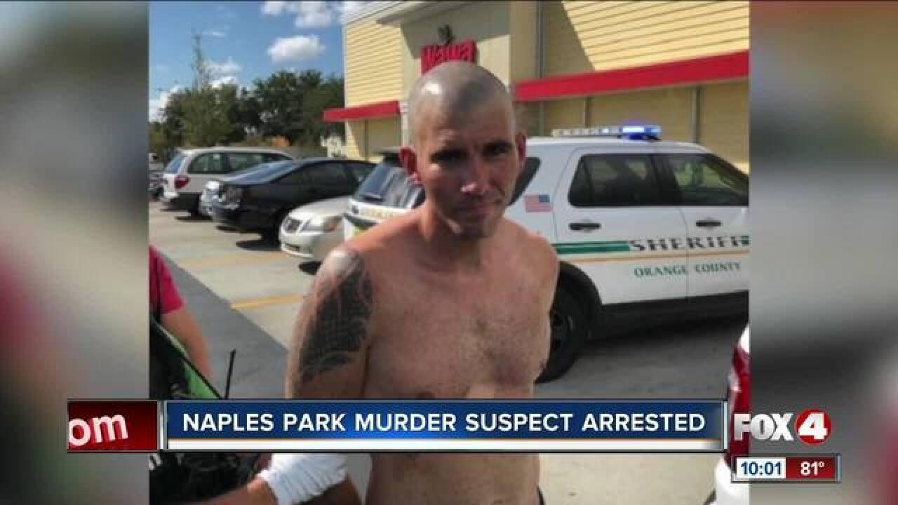 Deputies arrest Naples murder suspect