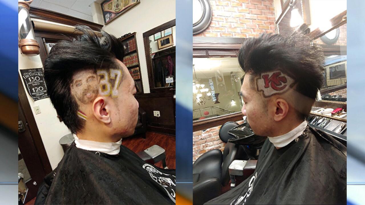 Chiefs haircuts