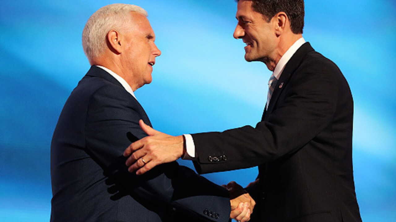 Mike Pence declines to endorse Paul Ryan for House speaker job moving forward
